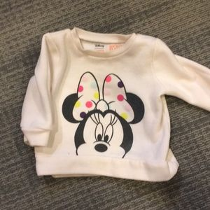 Disney Jumping Beans Minnie Mouse Sweatshirt